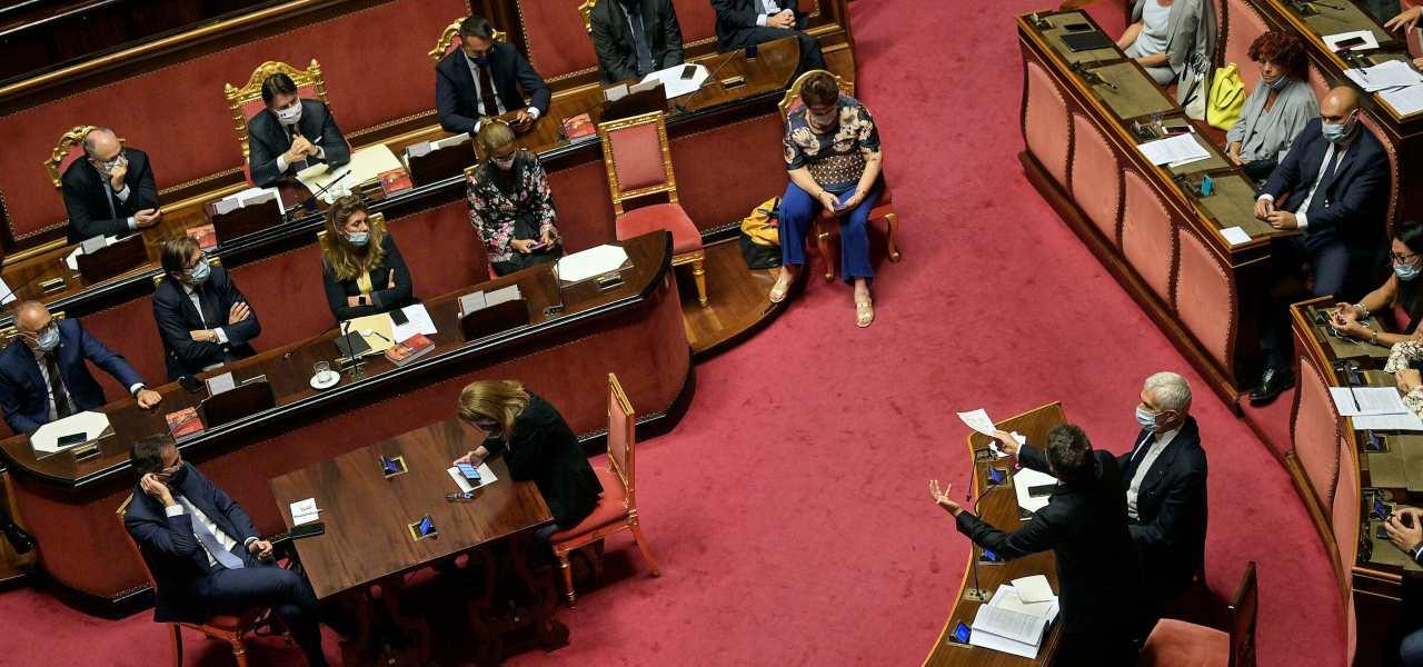 Governo Diretta Crisi E Caos Responsabili Voto Fiducia Conte Renzi Non Ha Numeri