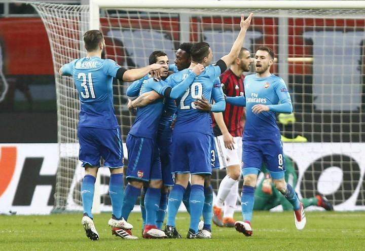 Arsenal_gruppo_gol_Milan_lapresse_2018