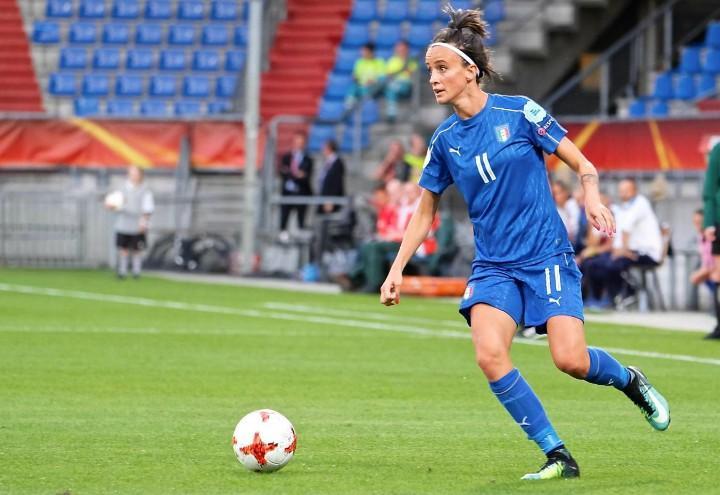 Bonansea Italia calcio femminile