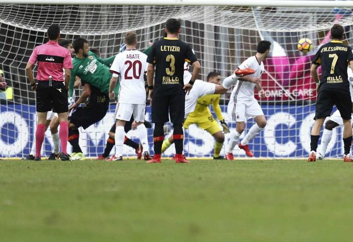 Brignoli_gol_Benevento_Milan_lapresse_2017