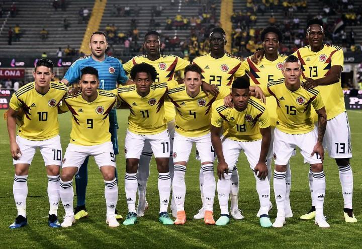 Colombia schierata