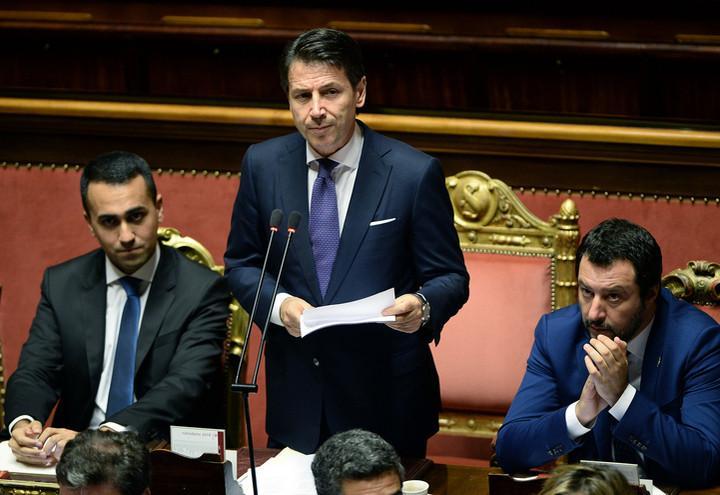 Conte_DiMaio_Salvini_Lapresse