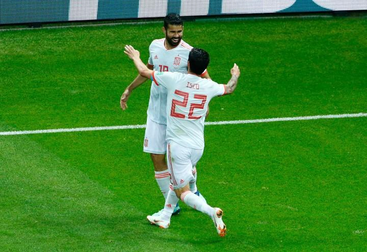 Diego_Costa_Isco_Spagna_Mondiali_lapresse_2018
