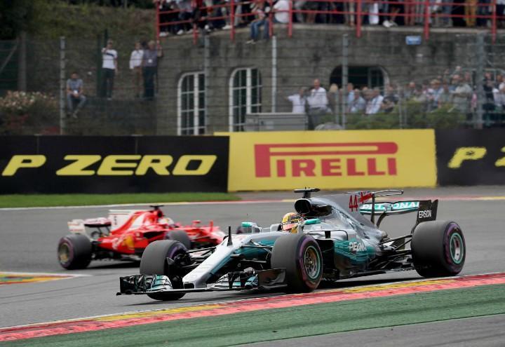 Hamilton Vettel Formula 1