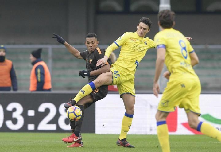 Inglese_Juan_Chievo_Roma_lapresse_2018