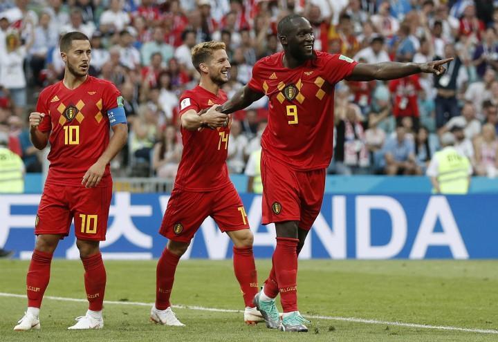 Lukaku_Mertens_Hazard_Belgio_Mondiali_lapresse_2018