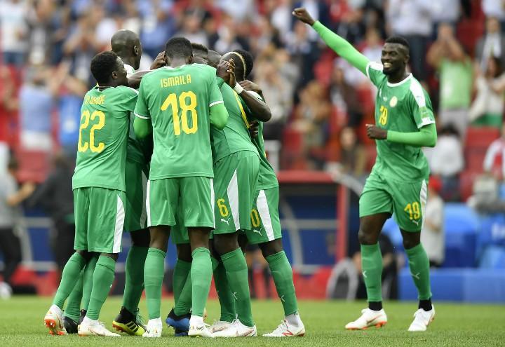 Senegal esultanza