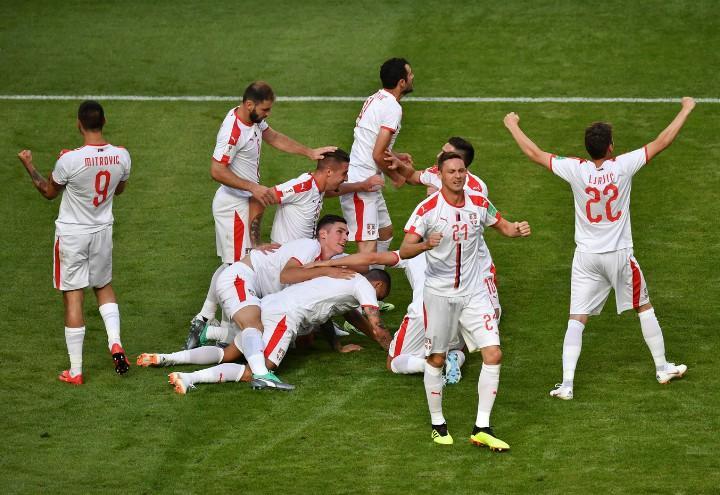 Serbia gol