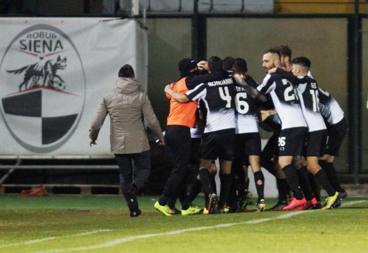Siena esultanza Serie C