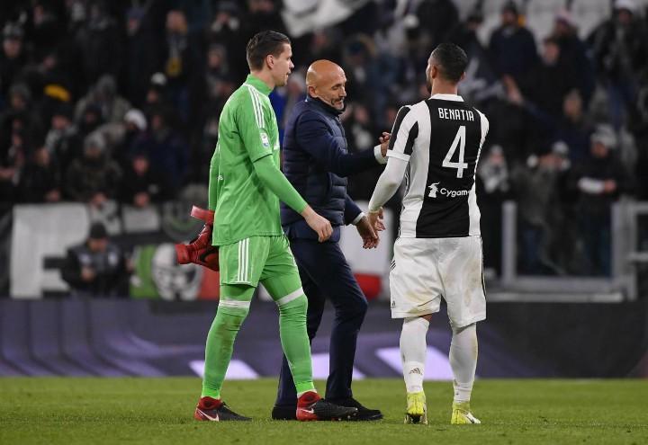 Szczesny_Spalletti_Benatia_Juventus_Inter_lapresse_2018