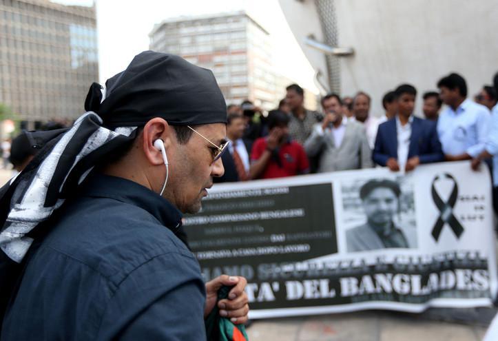 bangladesh_immigrati_milano_manifestazione_lapresse_2018