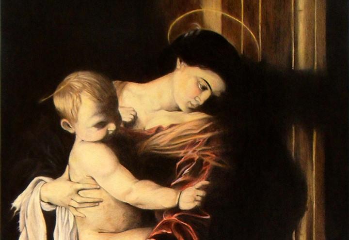 caravaggio_madonna_pellegrini_1606_arte