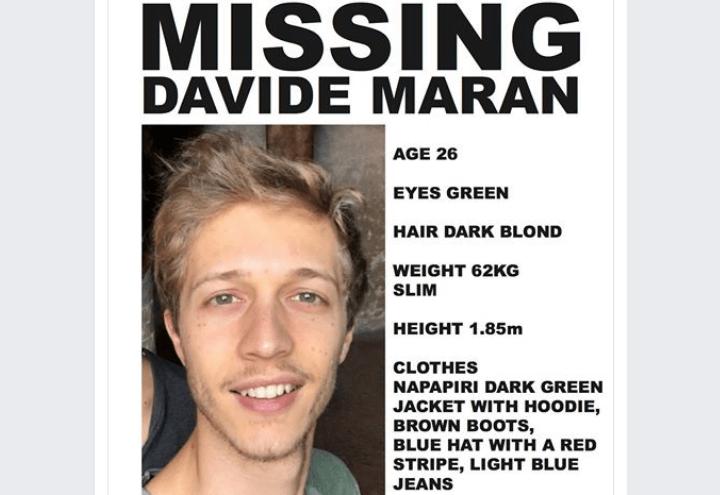 davide_maran_scomparso_facebook