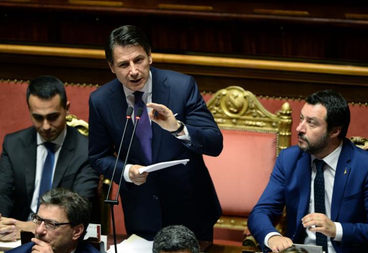governo_discorso_senato_fiducia_camera_salvini_conte_dimaio_lapresse_2018