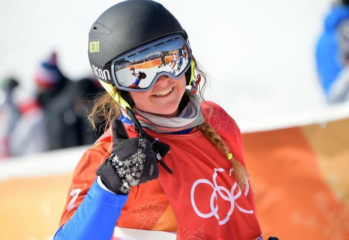 Snowboard cross michela moioli vince la coppa del mondo for Xxiii giochi olimpici invernali di pyeongchang medaglie per paese