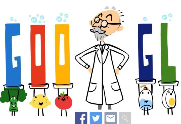 sorensen_ph_google_doodle