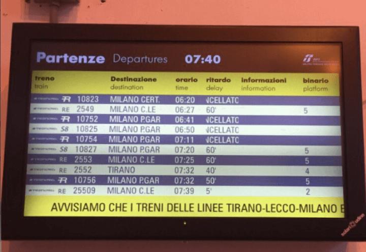 treni_trenord_ritardi_cancellazioni_sciopero_lecco_milano_twitter_2017
