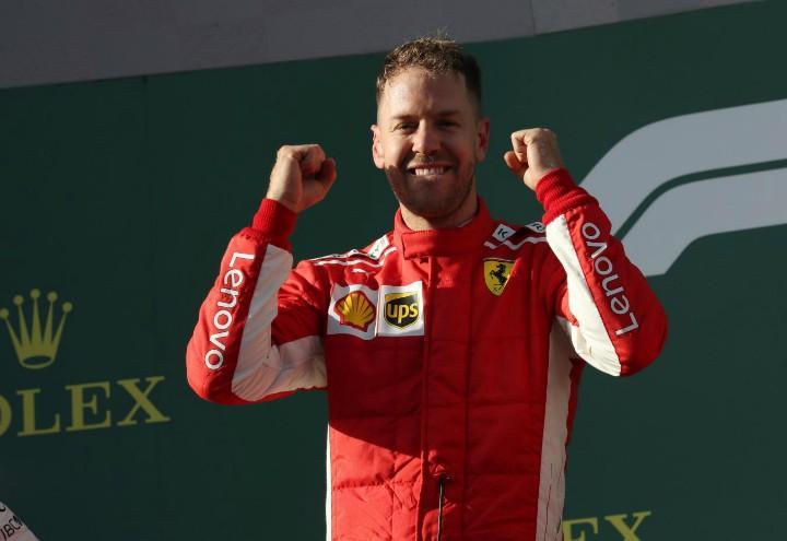 vettel podio Formula 1