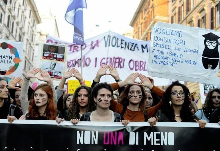 8marzo_donne_corteo_nonunadimeno_violenze_femminismo_twitter_2018
