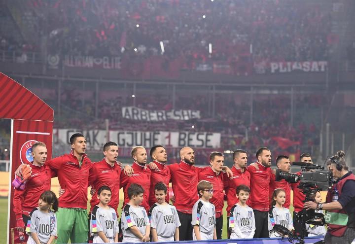 Albania schierata Europei
