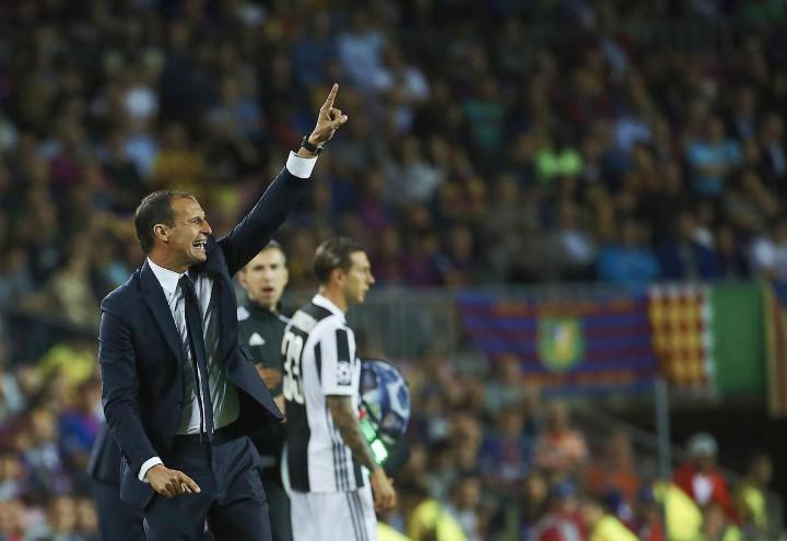 Allegri_Bernardeschi_Juventus_Barcellona_lapresse_2017