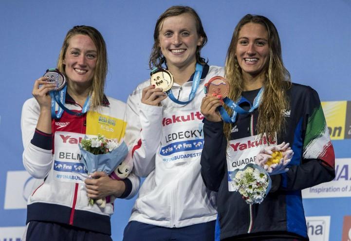 Belmonte_Ledecky_Quadarella_Mondiali_nuoto_lapresse_2017