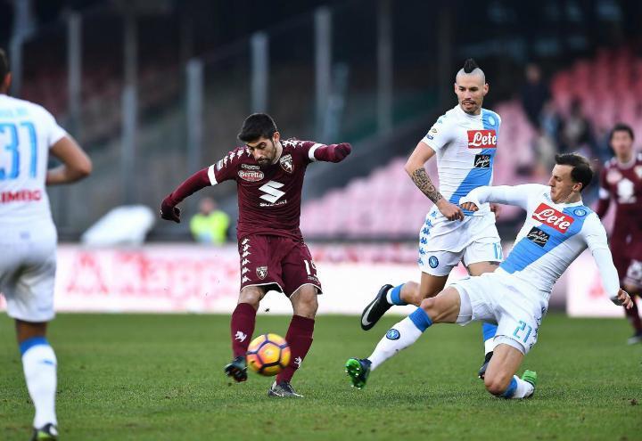 Benassi_Chiriches_Torino_Napoli_lapresse_2017