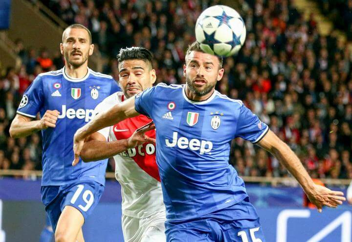 Bonucci_Falcao_Barzagli_Juventus_Monaco_lapresse_2017