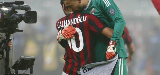 Calhanoglu_Donnarumma_Milan_Lazio_lapresse_2018