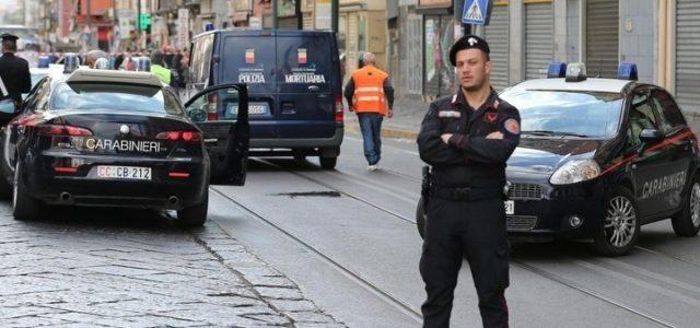 Carabinieri_Strada_Lapresse