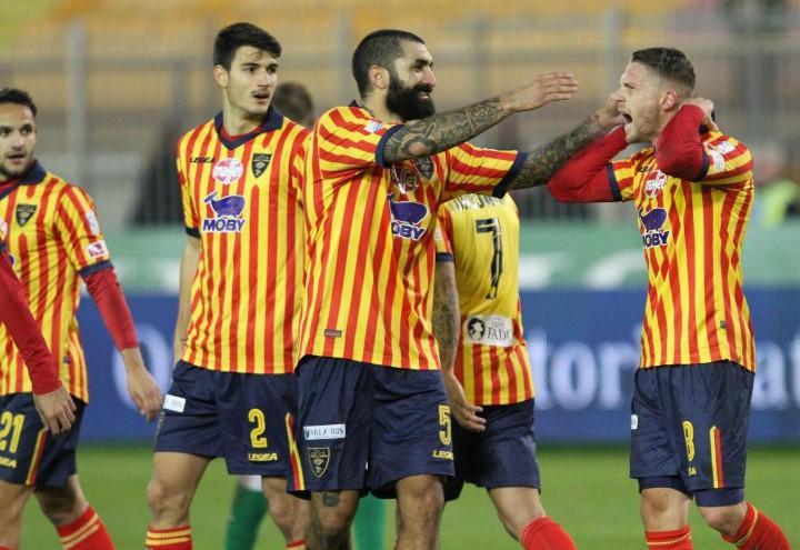 Cosenza_Caturano_Lecce_gol_lapresse_2017