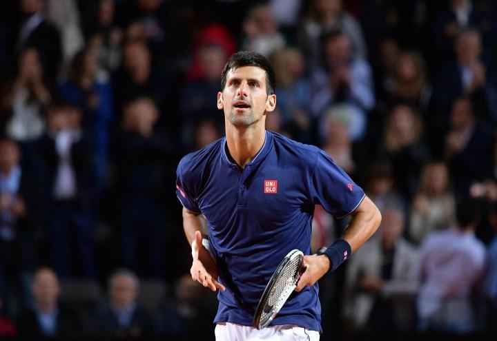 Djokovic_Roma_esultanza_lapresse_2017