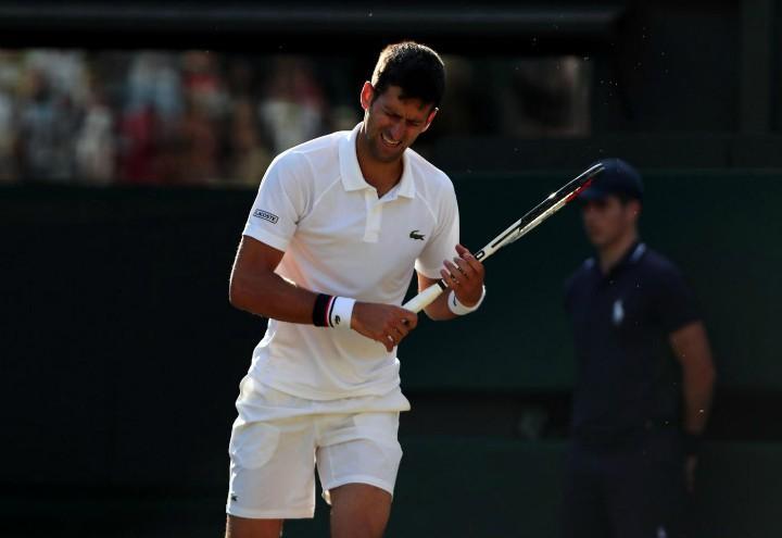 Djokovic_smorfia_Wimbledon_lapresse_2017
