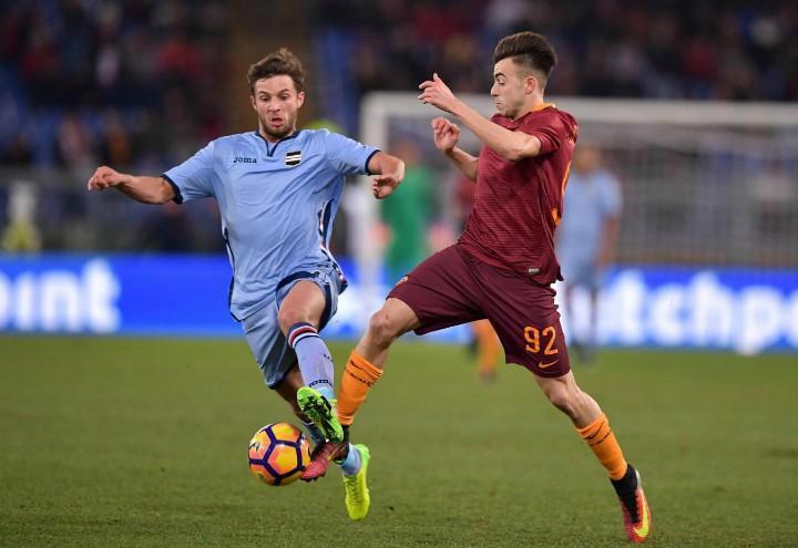 El_Shaarawy_Roma_Sampdoria_lapresse_2018