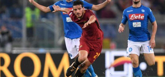 Florenzi_Jorginho_Mertens_Roma_Napoli_lapresse_2018