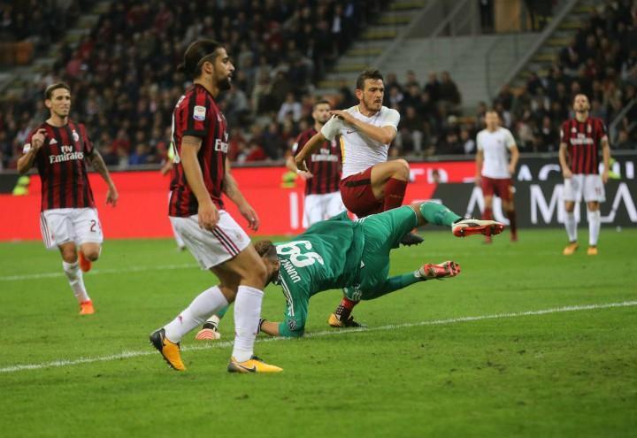 Florenzi_gol_Roma_Milan_lapresse_2017