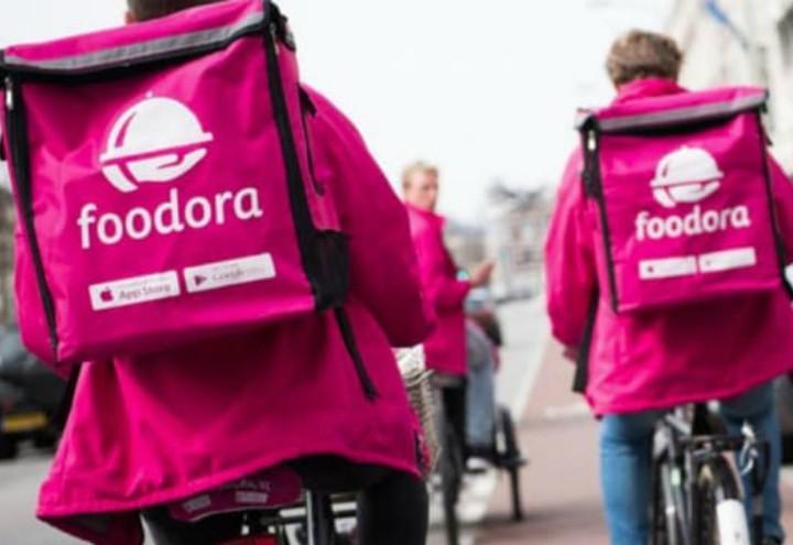 Foodora-rider