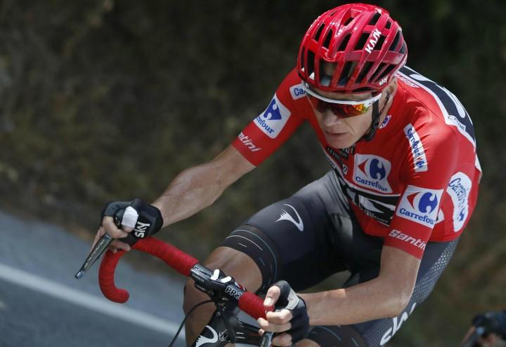 Froome_rosso_Vuelta_lapresse_2017