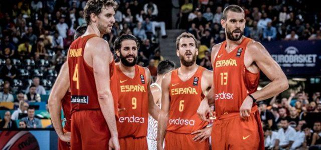 basket Spagna gruppo