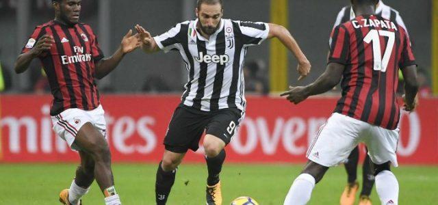Higuain_Kessie_Zapata_Milan_Juventus_lapresse_2018