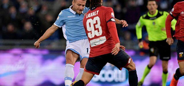 Immobile_Laxalt_Lazio_Genoa_lapresse_2017