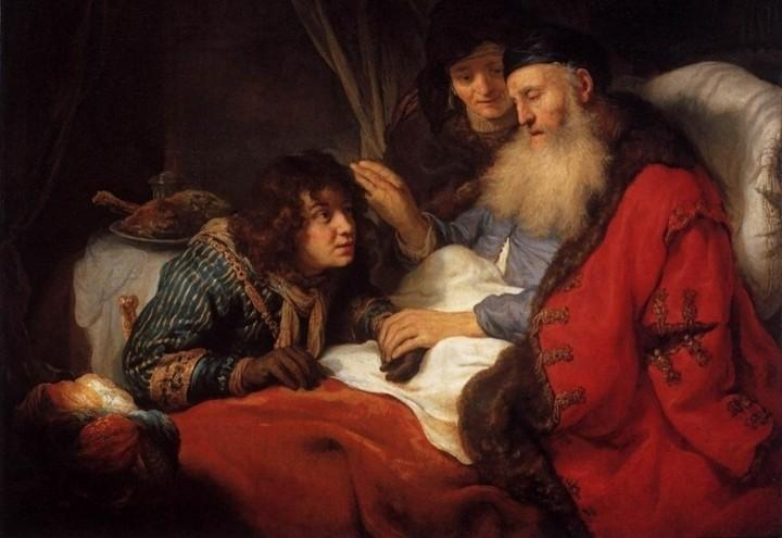 Isacco_benedice_Giacobbe_Govert_Flinck