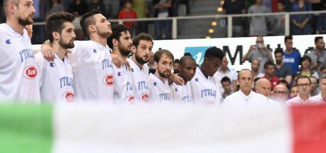 Italia basket schierata