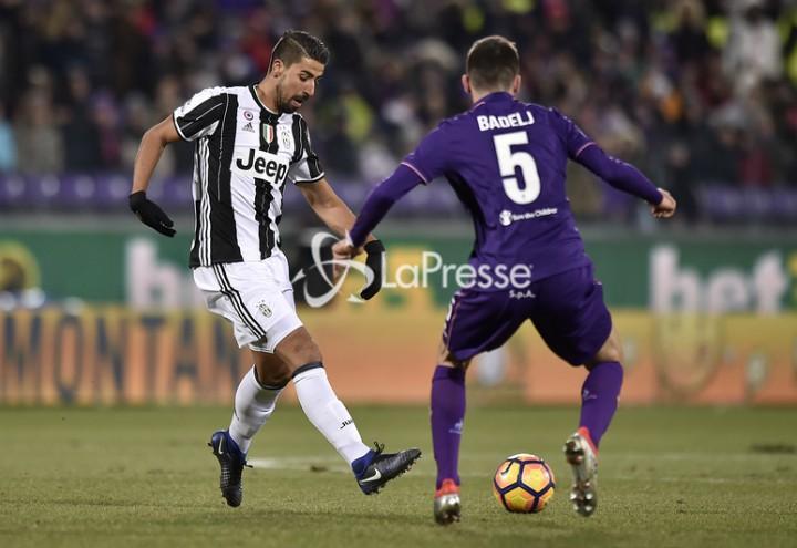Khedira Badelj Juventus Fiorentina