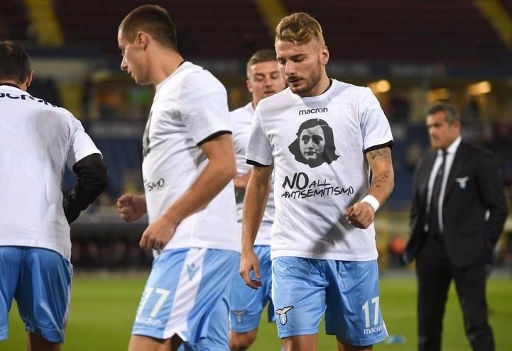Lazio-Maglia_Anna_frank_Lapresse