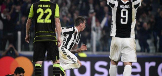 Mandzukic_Higuain_Juventus_Sporting_lapresse_2017