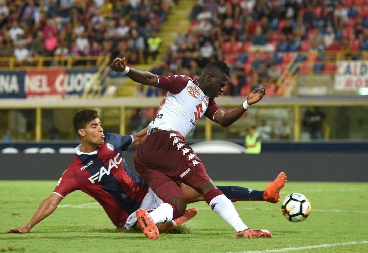 Masina_Acquah_Bologna_Torino_lapresse_2018