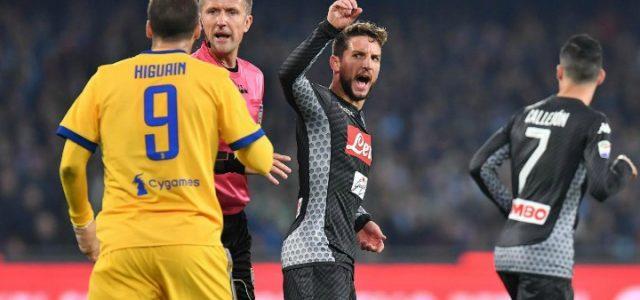 Mertens_Higuain_Orsato_Napoli_Juventus_lapresse_2018