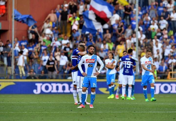 Mertens Napoli Sampdoria