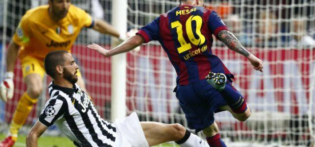 Messi_Bonucci_Buffon_Juventus_lapresse_2017
